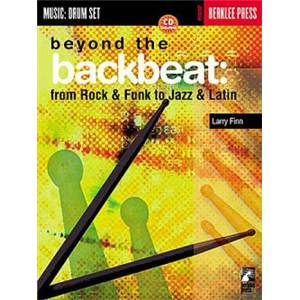 FINN LARRY - BERKLEE BEYOND BACKBEAT DRUMS + CD