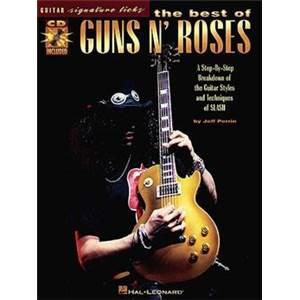 GUNS N' ROSES - SIGNATURE LICKS + CD
