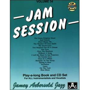 AEBERSOLD JAMEY - VOL. 034 JAM SESSION + 2CD