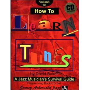 BAKER DAVID - AEBERSOLD 076 HOW TO LEARN TUNES + CD