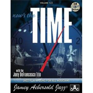 DEFRANCESCO JOEY - AEBERSOLD 123 NOW'S THE TIME + CD