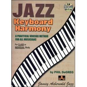 DE GREG PHIL - JAZZ KEYBOARD HARMONY + CD