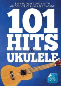 COMPILATION - 101 HITS FOR UKULELE BLUE BOOK