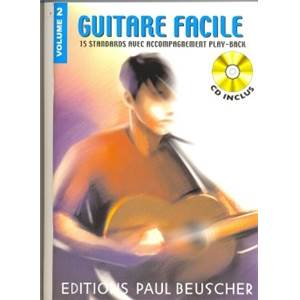 COMPILATION - GUITARE FACILE 15 STANDARDS VOL.2 + CD