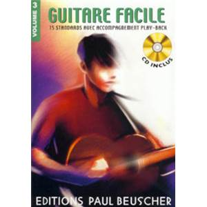COMPILATION - GUITARE FACILE 15 STANDARDS VOL.3 + CD