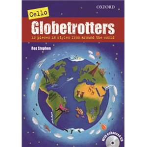 COMPILATION - CELLO GLOBETROTTERS + CD VIOLONCELLE/PIANO