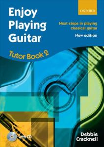 CRACKNELL DEBBIE - ENJOY PLAYING GUITAR TUTOR BOOK 2 +CD - GUITARE
