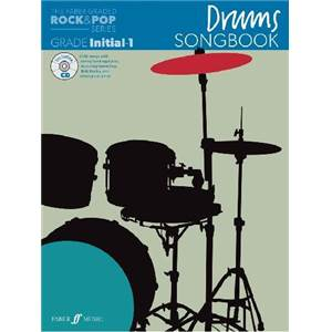 COMPILATION - ROCK & POP GRADED SONGBOOK DRUMS INITIAL TO GRADE 1 + CD