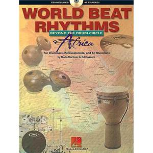MARTINEZ / ROSCETTI - WORLD BEAT RHYTHMS DRUMS BRAZIL + CD
