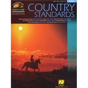 COMPILATION - PIANO PLAY ALONG VOL.006 COUNTRY STANDARDS + CD