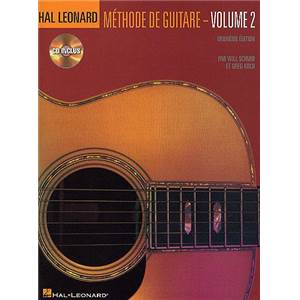 HAL LEONARD - METHODE DE GUITARE VOL.2 + CD