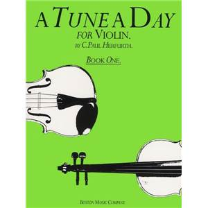 HERFURTH PAUL - A TUNE A DAY VIOLIN VOL.1 VIOLON