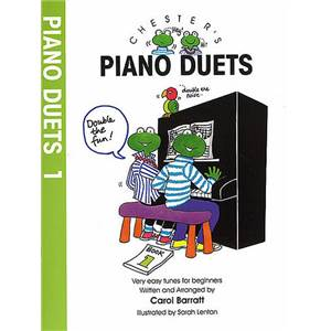 BARRATT CAROL - CHESTER'S PIANO DUETS VOL.1