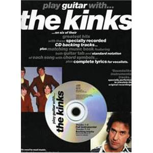 THE KINKS - PLAY GUITAR WITH TAB. + CD