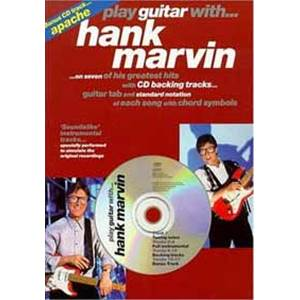 MARVIN HANK - PLAY GUITAR TAB. + CD