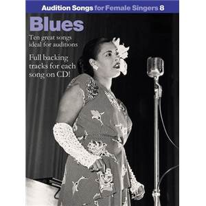 COMPILATION - AUDITION SONGS FOR FEMALE SINGERS : BLUES + CD