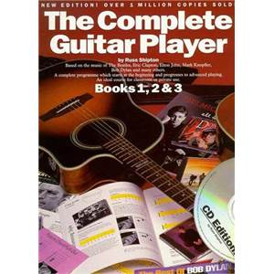 SHIPTON RUSS - COMPLETE GUITAR PLAYER VOL.1, 2, 3 + CD