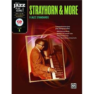 STRAYHORN BILLY - JAZZ PLAY ALONG VOL.1 FOR C, BB, EB AND BASS CLEF + CD