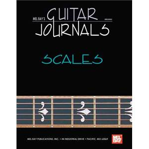 BAY WILLIAM - GUITAR JOURNALS SCALES