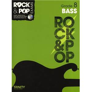 COMPILATION - TRINITY COLLEGE LONDON : ROCK & POP GRADE 8 FOR BASS + CD