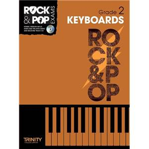 COMPILATION - TRINITY COLLEGE LONDON : ROCK & POP GRADE 2 FOR KEYBOARD + CD