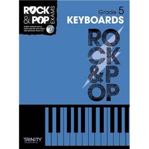 COMPILATION - TRINITY COLLEGE LONDON : ROCK & POP GRADE 5 FOR KEYBOARD + CD