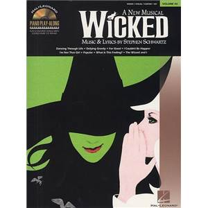 SCHWARTZ STEPHEN - PIANO PLAY ALONG VOL.046 WICKED + CD