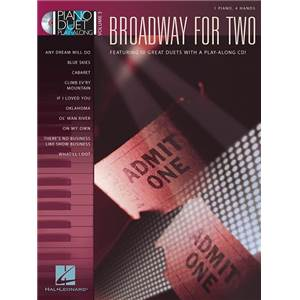 COMPILATION - PIANO DUETS PLAY ALONG VOL.3 BROADWAY FOR TWO + CD
