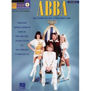 ABBA - PRO VOCAL FOR WOMEN SINGERS VOL.25 + CD
