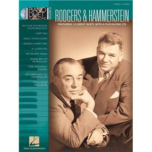 RODGERS / HAMMERSTEIN - PIANO DUET PLAY ALONG VOL.22 + CD