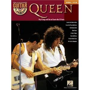 QUEEN - GUITAR PLAY ALONG VOL.112 + CD