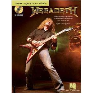 MEGADETH - SIGNATURE LICKS + CD