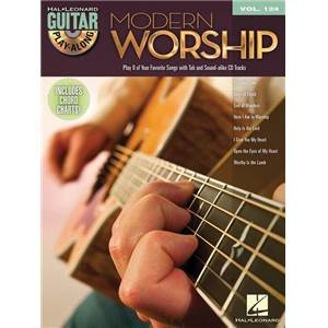 COMPILATION - GUITAR PLAY ALONG VOL.124 MODERN WORSHIP + CD