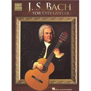 BACH J.S. - FOR EASY GUITAR