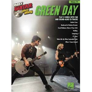 GREEN DAY - EASY GUITAR PLAY-ALONG VOL.010 + CD