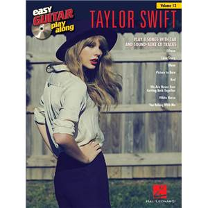 SWIFT TAYLOR - EASY GUITAR PLAY ALONG VOL.012 + CD