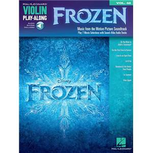 COMPILATION - VIOLIN PLAY ALONG VOL.048 FROZEN LA REINE DES NEIGES + CD