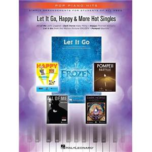 COMPILATION - POP PIANO HITS LET IT GO, HAPPY & MORE HOT SINGLES