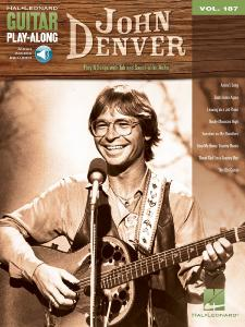 DENVER JOHN - GUITAR PLAY-ALONG VOL.187 JOHN DENVER + ONLINE AUDIO ACCESS