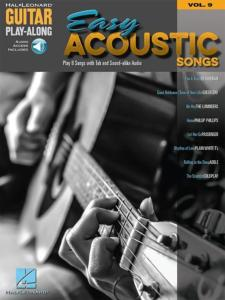COMPILATION - GUITAR PLAY-ALONG VOL.009 EASY ACOUSTIC SONGS + ONLINE AUDIO ACCESS