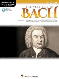 BACH J.S. - INSTRUMENTAL PLAY-ALONG  VERY BEST OF BACH VIOLA + ONLINE AUDIO ACCESS