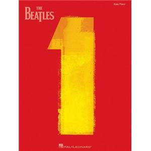 BEATLES THE - NO.1 EASY PIANO