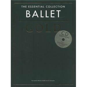 COMPILATION - GOLD BALLET ESSENTIAL PIANO COLLECTION + CD