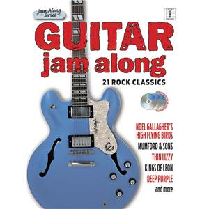 COMPILATION - GUITAR JAM ALONG 21 ROCK CLASSICS GUITAR TAB. + 3CD
