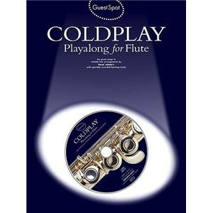 COLDPLAY - GUEST SPOT PLAY ALONG FOR FLUTE + CD