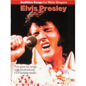 PRESLEY ELVIS - AUDITION SONGS FOR MALE SINGERS + CD