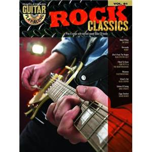 COMPILATION - GUITAR PLAY ALONG VOL.081 ROCK CLASSICS + CD