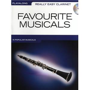COMPILATION - REALLY EASY CLARINET FAVOURITE MUSICALS + CD