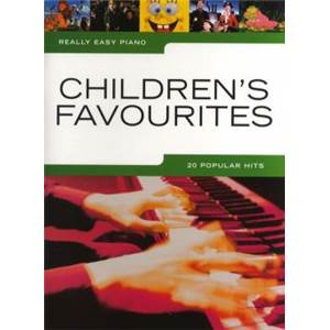 COMPILATION - REALLY EASY PIANO CHILDREN'S FAVOURITES