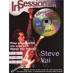 VAI STEVE - IN SESSION WITH + CD